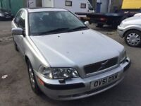 2001 Volvo S40 automatic, starts and drives well, MOT until 29th November, 71,000 miles, black leath