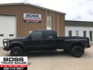 2009 Ford Super Duty F-350 DRW Lariat Custom Dually Diesel!!