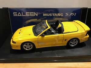 1/18 Diecast Autoart Saleen Mustang S351 Convertible