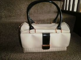Ted Baker cream/black handbag, [Genuine]