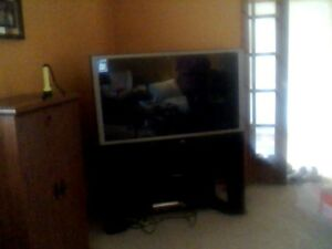 "44 "" Hitachi TV for sale."