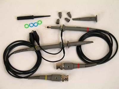 1 Pcs Oszilloskop Tastkopf 100 MHz Sonde 100 1 Schwarz