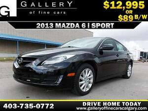 2013 Mazda Mazda6 GS i Sport $89 BI-WEEKLY APPLY NOW DRIVE NOW