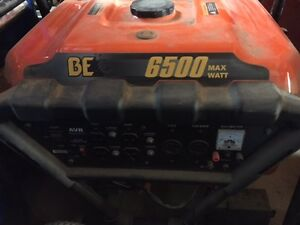 BE 6500w Generator