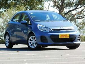 2016 Kia Rio UB MY16 S Blue 4 Speed Sports Automatic Hatchback Melrose Park Mitcham Area Preview
