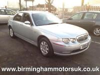 2001 (X Reg) Rover 75 2.0 CDT CLASSIC SE 4DR Saloon SILVER