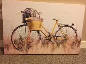Brand New Bicycle Painting for Sale Regina Regina Area image 1