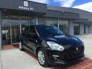 2017 Suzuki Swift AZ GL Navigator Black 1 Speed Constant Variable Hatchback Fyshwick South Canberra Preview