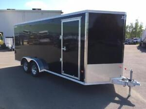 NEW 2017 XPRESS 7' x 18' ALUMINUM ENCLOSED TRAILER