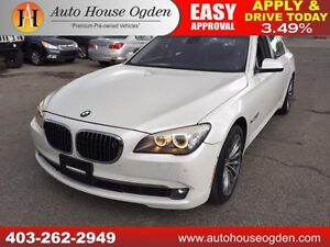 2010 BMW 750i xDrive AWD NAVIGATION BACKUP CAMERA 90DAYNOPAYMENT