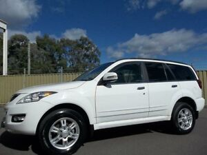 2012 Great Wall X200 CC6461KY MY11 (4x4) White 5 Speed Automatic Wagon Lalor Park Blacktown Area Preview