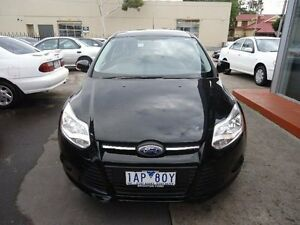 2013 Ford Focus LW MKII Ambiente PwrShift Black 6 Speed Sports Automatic Dual Clutch Hatchback Alphington Darebin Area Preview