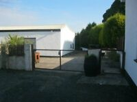 Large unit shed for rent
