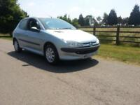 Peugeot 206 1.4 2002 CHEAP CHEERFULRUNABOUT Selling as spares or repair