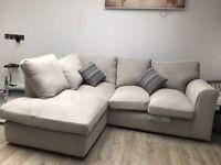 Lilly Corner sofa (left hand facing)
