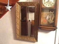 Antique ornate mirror
