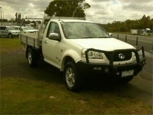 2012 Great Wall V200 K2 (4x4) White 6 Speed Manual Cab Chassis Traralgon Latrobe Valley Preview