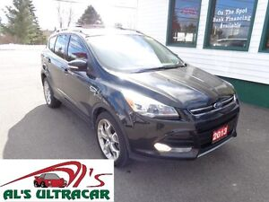2013 Ford Escape Titanium w/ self park only $202 bi-weekly!