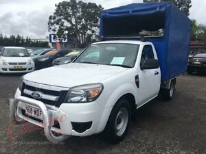 2011 Ford Ranger PK XL (4x2) White 5 Speed Manual Cab Chassis Lansvale Liverpool Area Preview