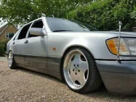 W140 300SEL Modified lowered show car 1 year Mot