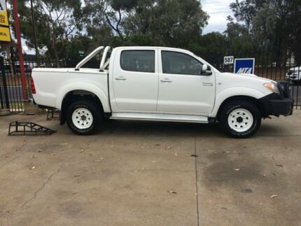 2008 Toyota Hilux KUN26R 08 Upgrade SR5 (4x4) White 4 Speed Automatic Dual Cab Pick-up West Croydon Charles Sturt Area Preview