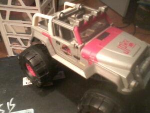 Jurassic Park Matchbox 93'Jeep Wrangler