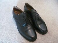 Mens Black Leather Formal Lace Up Shoes NEVER WORN BRAND NEW Size 10
