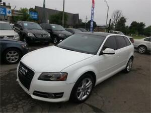 2012 Audi A3 2.0T - Htd Leather Seats|Dbl Pano Roof - Mint