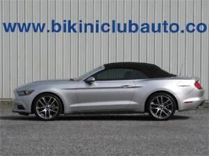 2015 Ford Mustang PREMIUM CONV ECOBOOST CUIR/NAV/MAG/AUTO