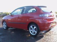 SEAT IBIZA 1.4 SPORT 3 DR RED,1 YRS MOT,NEW F/R BRAKE DISCS/PADS FITTED,CLICK ON VIDEO LINK FOR MORE