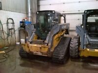 2010 John Deere 333D Compact Track Loader with Cab
