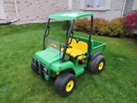 John Deere Gator Special Edition with LED Lights