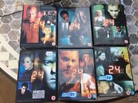 24 Boxsets (seasons 1-6) - Kiefer Sutherland
