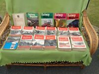 Railway Magazines in year sets 1951-61