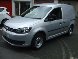 Volkswagen Caddy 1.6TDI 102PS C20 Silver Van Air Con Elec Windows Sportive Look