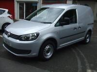 Volkswagen Caddy 1.6TDI 102PS C20 Silver Van Air Con Elec Windows Sportive Look