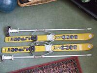 "Pair of Polsport 36"" long skis"