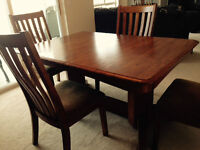 Dining Room Set Solid Oak