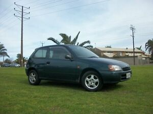 1998 Toyota Starlet EP91R MAX 5 Speed Manual Hatchback Alberton Port Adelaide Area Preview