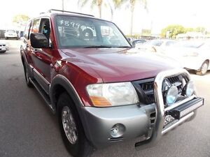 2003 Mitsubishi Pajero NP MY04 GLS Maroon & Silver 5 Speed Sports Automatic Wagon Enfield Port Adelaide Area Preview
