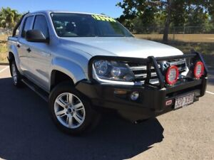 2016 Volkswagen Amarok 2H MY16 TDI420 4MOTION Perm Core Silver 8 Speed Automatic Utility Townsville Townsville City Preview