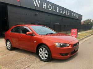 2012 Mitsubishi Lancer CJ MY12 ES Sportback Orange 6 Speed Constant Variable Hatchback