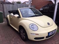 2006 VW Convertible Beetle Luna 1.6 - Limited Edition Yellow
