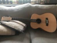 12 string Tanglewood acoustic guitar