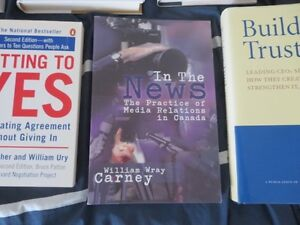 7 Books on Business Marketing PR Public Relations Sales + Cambridge Kitchener Area image 6