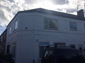 Very large airy 2 bed apartment in Astwood Bank