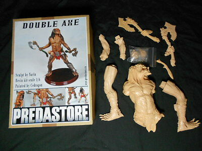 Narin Predastore Double Axe Predator Resin Model Kit 1/6 Scale