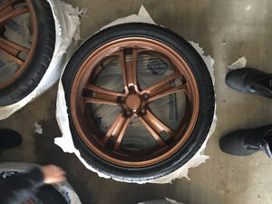Ford Mustang 20'' rims with tires