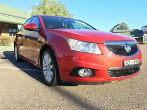 2011 Holden Cruze JH Series II MY12 CDX Burgundy 6 Speed Sports Automatic Sedan