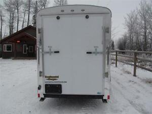 """14' CARGO TRAILER WITH 12"""" EXTRA HEIGHT Prince George British Columbia image 4"""
